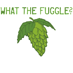 What the Fuggle hops and homebrewer t-shirt design