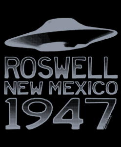 Roswell UFO 1947 Tshirts and Gifts