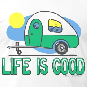 Life is Good Travel Trailer T-Shirt