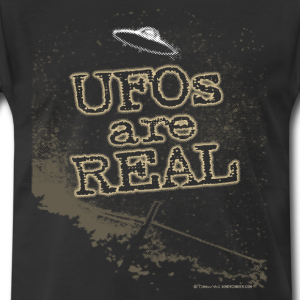 UFOs are Real T-Shirt Slogan