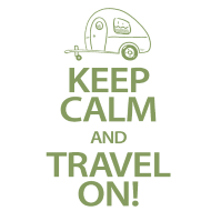 Keep Calm Travel On T-Shirts
