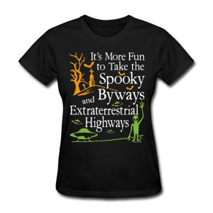 Spooky Byways and Extraterrestrial Highways Paranormal design by WindyCinder
