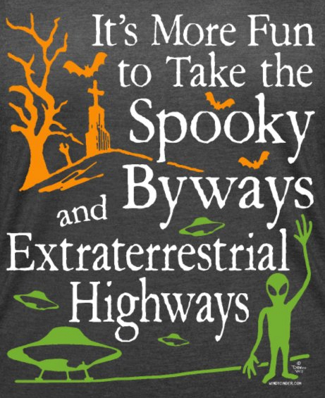 Spooky Byways Extraterrestrial Highways