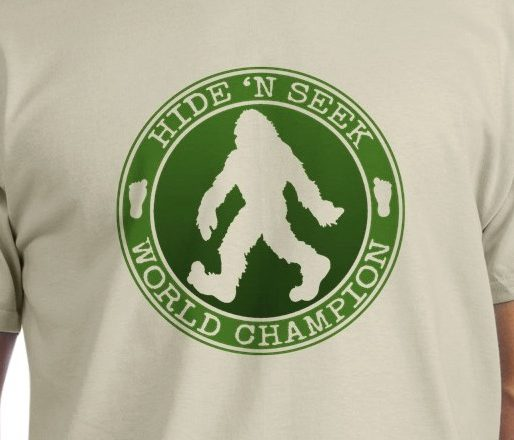 Bigfoot Hide n Seek World Champion T-shirts