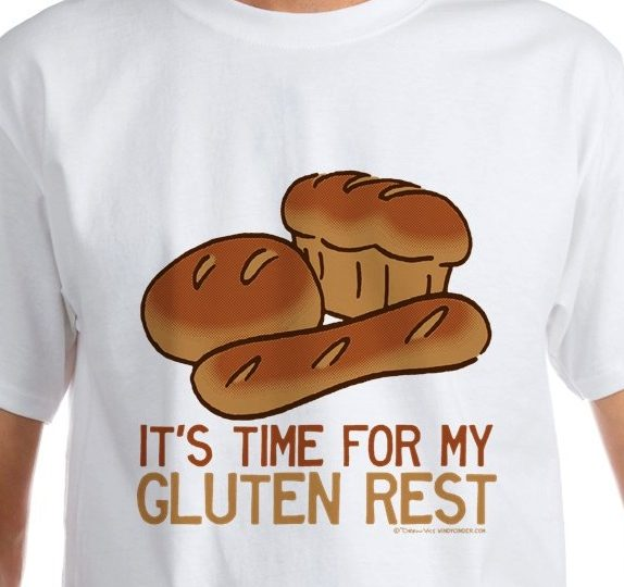 Time for my Gluten Rest funny bread baker slogan t-shirt
