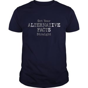 Alternative Facts Guys Navy Blue T-Shirt