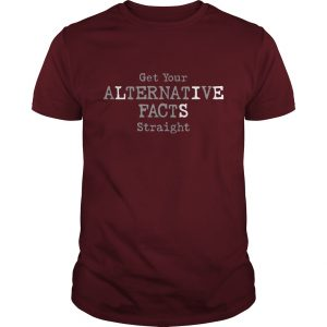 Alternative Facts Guys Maroon T-Shirt