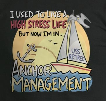 Anchor Management Retirement T-Shirts