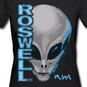 Roswell NM Alien Art on T-Shirts and more at Spreadshirt.com