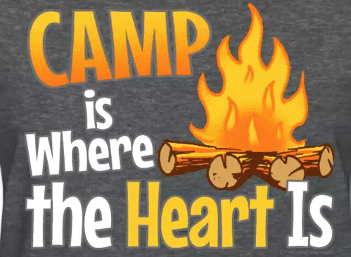 Camp is Where the Heart Is, WindyCinder camping slogans