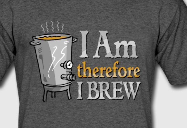 I Am Therefore I Brew, beer homebrewer gifts