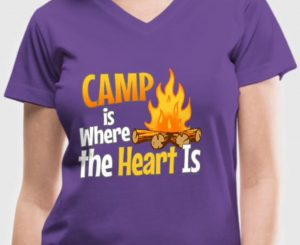 Camp is where the heart is camping gift ideas by WindyCinder Designs
