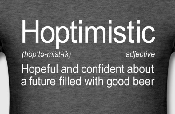 Hoptimistic Definition Buy Hoptimistic Definition T-Shirt at Spreadshirt.com.