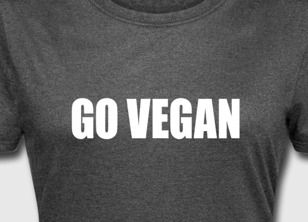 Buy Go Vegan Tshirts by WindyCinder at Spreadshirt.com