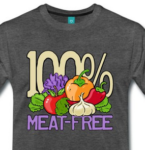 100% Meat Free T-Shirts