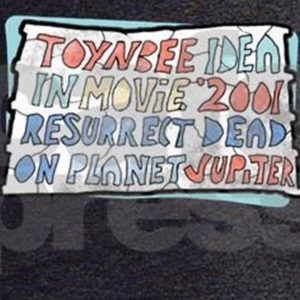 Toynbee Idea Tile replica T-Shirt Design available at CafePress.com. First version by WindyCinder. Closeup.