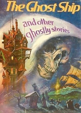 The Ghost Ship and Other Ghostly Stories - Vintage Book cover art